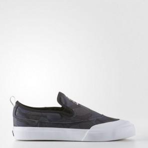 Zapatillas Adidas para hombre match court slip-on core negro/utility negro/footwear blanco BB8632-561