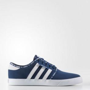 Zapatillas Adidas para hombre seeley mystery azul/footwear blanco BB8459-568