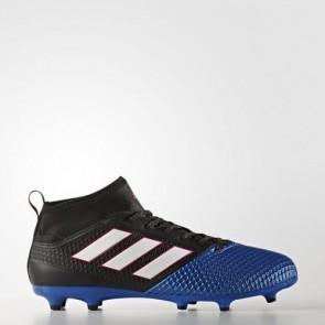 Zapatillas Adidas para hombre ace 17.3 primemesh césped natural core negro/footwear blanco/azul BA8505-569