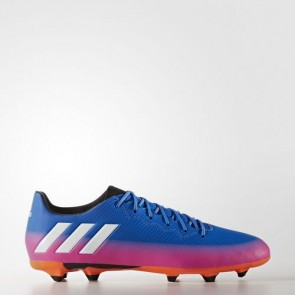 Zapatillas Adidas para hombre messi 16.3 césped natural azul/footwear blanco/solar naranja BA9021-578