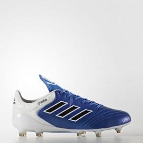 Zapatillas Adidas para hombre copa 17.1 césped natural azul/core negro/footwear blanco BA8516-582
