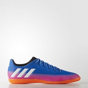 Zapatillas Adidas para hombre messi 16.3 indoor azul/footwear blanco/solar naranja BA9018-590