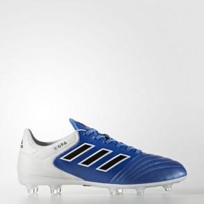 Zapatillas Adidas para hombre copa 17.2 césped natural azul/core negro/footwear blanco BA8521-593