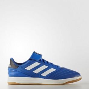 Zapatillas Adidas para hombre copa tango 17.2 azul/crystal blanco/core negro BA8532-595