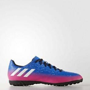 Zapatillas Adidas para hombre messi 16.4 moqueta azul/footwear blanco/solar naranja BA9024-602
