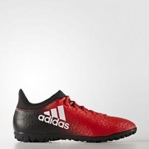 Zapatillas Adidas para hombre x 16.3 calle o moqueta rojo/footwear blanco/core negro BB5663-603