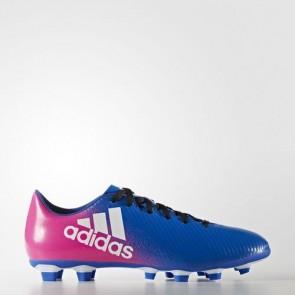 Zapatillas Adidas para hombre x 16.4 azul/footwear blanco/shock rosa BB1037-610