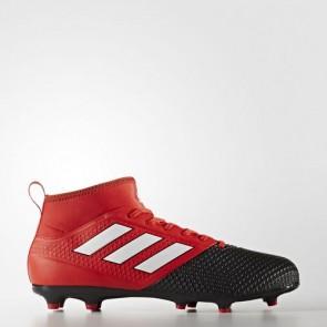 Zapatillas Adidas para hombre ace 17.3 primemesh césped natural rojo/footwear blanco/core negro BA8506-617