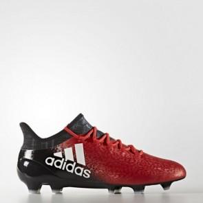 Zapatillas Adidas para hombre x 16.1 césped natural rojo/footwear blanco/core negro BB5618-620