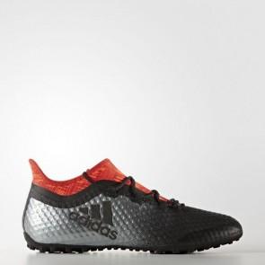 Zapatillas Adidas para hombre x tango 16.1 calle o moqueta core negro/rojo BA9467-621