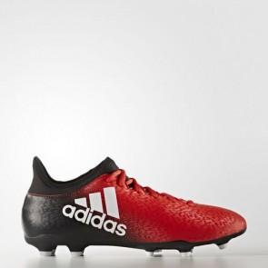 Zapatillas Adidas para hombre x 16.3 césped natural rojo/footwear blanco/core negro BB5640-622