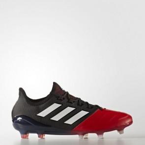 Zapatillas Adidas para hombre ace 17.1 leather césped natural core negro/footwear blanco/rojo BB4320-623