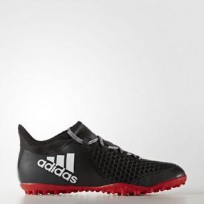 Zapatillas Adidas para hombre x tango 16.2 calle o moqueta core negro/footwear blanco/rojo BA9469-634
