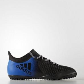 Zapatillas Adidas para hombre x tango 16.2 calle o moqueta core negro/azul/footwear blanco BA9470-635