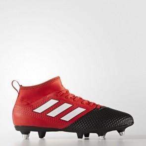 Zapatillas Adidas para hombre ace 17.3 primemesh césped natural rojo/footwear blanco/core negro BY2835-637