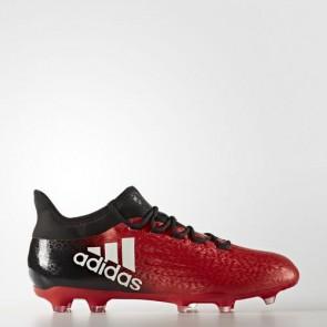 Zapatillas Adidas para hombre x 16.2 césped natural rojo/footwear blanco/core negro BB5632-641