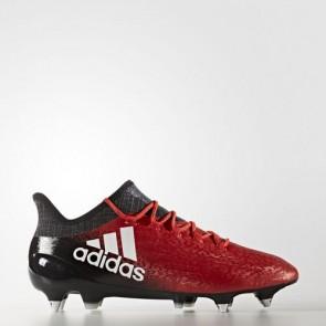 Zapatillas Adidas para hombre x 16.1 césped natural rojo/footwear blanco/core negro BA7382-643
