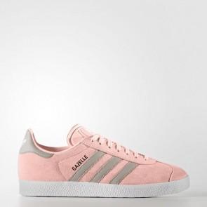 Zapatillas Adidas para mujer gazelle haze coral/clear granite/footwear blanco BA7656-002