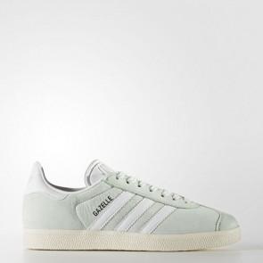 Zapatillas Adidas para mujer gazelle linen verde/ftwr blanco/cream blanco BY9034-012