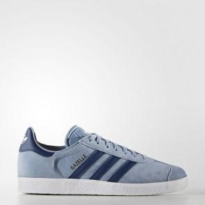 Zapatillas Adidas para mujer gazelle tactile azul/mystery azul/footwear blanco BA7657-013