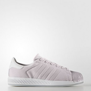 Zapatillas Adidas para mujer super star bounce ice violeta/footwear blanco BB2293-017