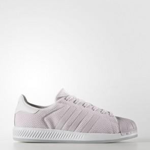 Zapatillas Adidas para mujer super star bounce ice violeta/footwear blanco BB2293-017