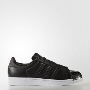 Zapatillas Adidas para mujer super star 80s core negro/footwear blanco BY2883-029