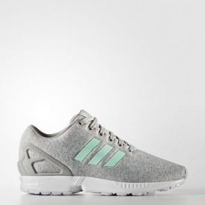 Zapatillas Adidas para mujer zx flux medium gris heather/easy mint/footwear blanco BB2259-030