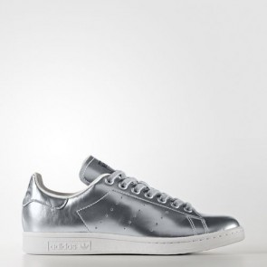 Zapatillas Adidas para mujer stan smith silver metallic/footwear blanco CG3679-039