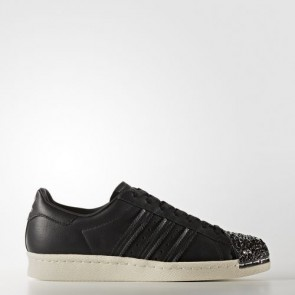 Zapatillas Adidas para mujer super star 80s core negro/off blanco BB2033-052