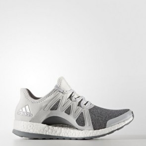 Zapatillas Adidas para mujer pure boost xpose clear gris/silver metallic/mid gris BB1734-056