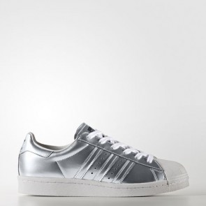 Zapatillas Adidas para mujer super star boost silver metallic/footwear blanco BB2271-057