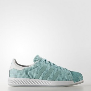 Zapatillas Adidas para mujer super star bounce easy mint/footwear blanco BB2294-059