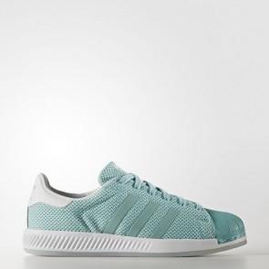 Zapatillas Adidas para mujer super star bounce easy mint/footwear blanco BB2294-059