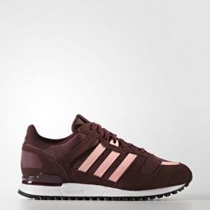 Zapatillas Adidas para mujer zx 700 maroon/haze coral/night rojo BA9979-064