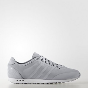 Zapatillas Adidas para mujer cloudfoam groove tm clear onix/matte silver B74689-068