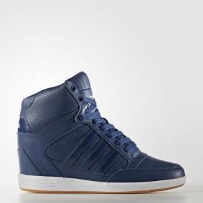Zapatillas Adidas para mujer super wedge mystery azul/footwear blanco AW3969-074