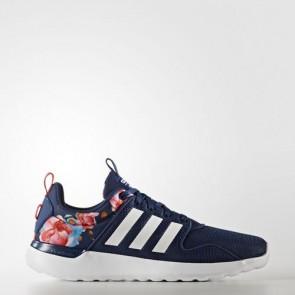 Zapatillas Adidas para mujer cloudfoam lite racer mystery azul/footwear blanco/shock rojo AW4037-078