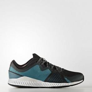 Zapatillas Adidas para mujer crazy pro core negro/silver metallic/energy azul BB1507-092
