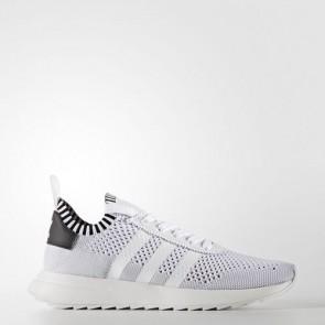 Zapatillas Adidas para mujer primeknit flb footwear blanco/core negro/clear gris BY2792-096
