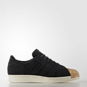 Zapatillas Adidas para mujer super star 80s core negro/off blanco BY2963-098