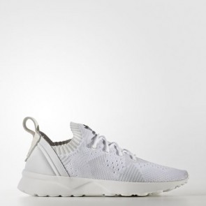 Zapatillas Adidas para mujer zx fluxvirtue primeknit footwear blanco/clear gris/core negro BB2306-103