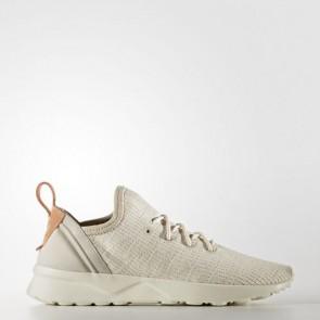 Zapatillas Adidas para mujer zx fluxvirtue marrón claro/off blanco/sun glow BB2317-105