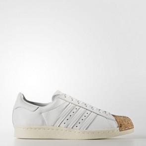 Zapatillas Adidas para mujer super star 80s footwear blanco/off blanco BA7605-118
