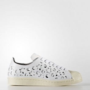 Zapatillas Adidas para mujer super star 80s footwear blanco/cream blanco BB2129-125