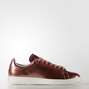 Zapatillas Adidas para mujer stan smith copper metallic/footwear blanco BB0107-130