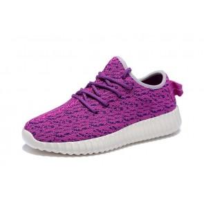 Zapatillas para mujer Adidas Yeezy boost 350 violeta/blanco_021