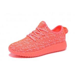 Zapatillas para mujer Adidas Yeezy boost 350 naranja/blanco_022