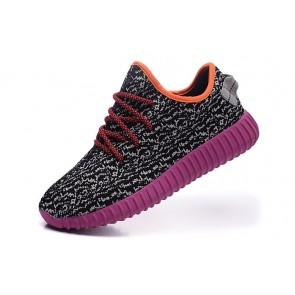 Zapatillas para mujer Adidas Yeezy boost 350 gris/violeta_035