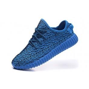 Zapatillas para hombre Adidas Yeezy boost 350 azul_039